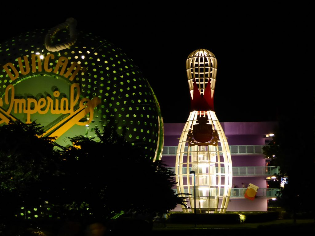 Disney's Pop Century Resort Night View