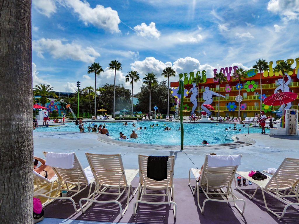 Disney's Pop Century Resort Hippy Dippy Pool