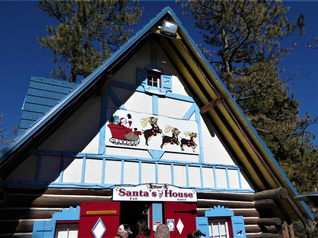 Santa's Workshop North Pole Santa's House