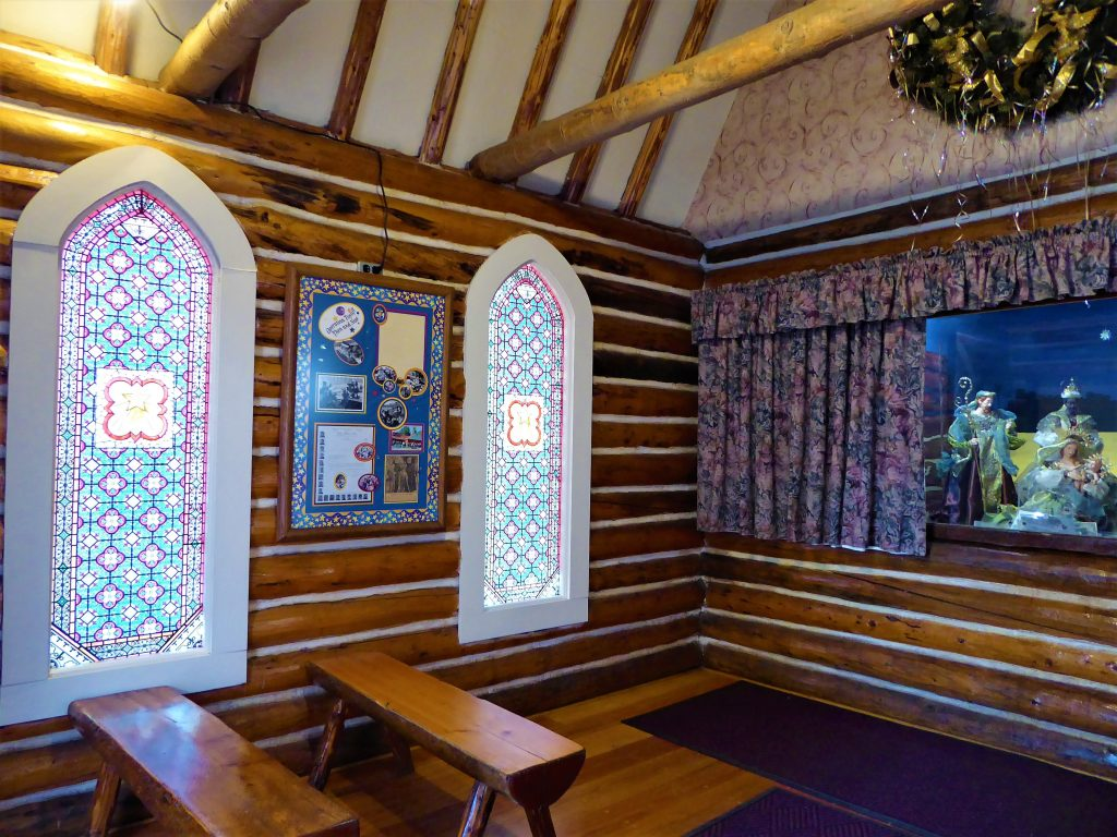 Santa's Workshop North Pole Interior Chapel