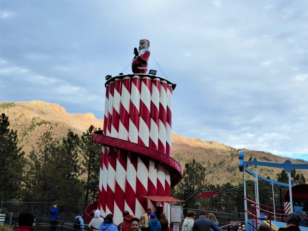 Santa's Workshop North Pole Peppermint Slide
