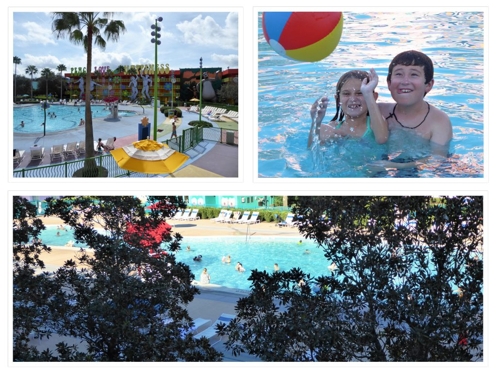 Disney's Pop Century Resort Pools