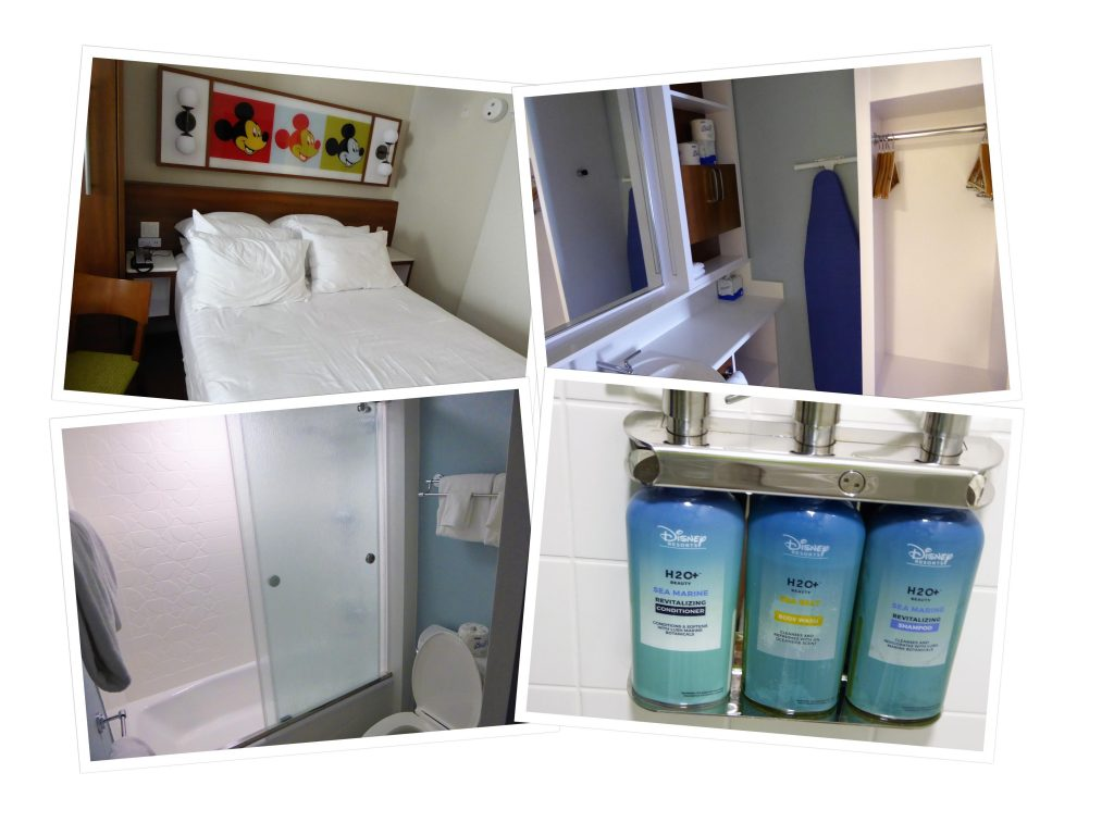 Disney's Pop Century Resort Room Collage