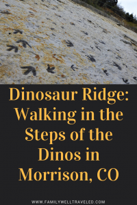 Dinosaur Ridge, Morrison, Colorado