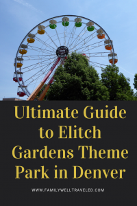 Elitch Gardens Theme Park Denver, CO USA