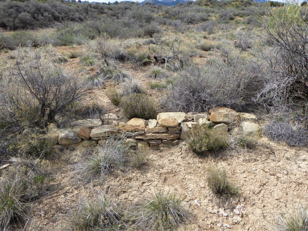 Yucca House National Monument Stacked Rock