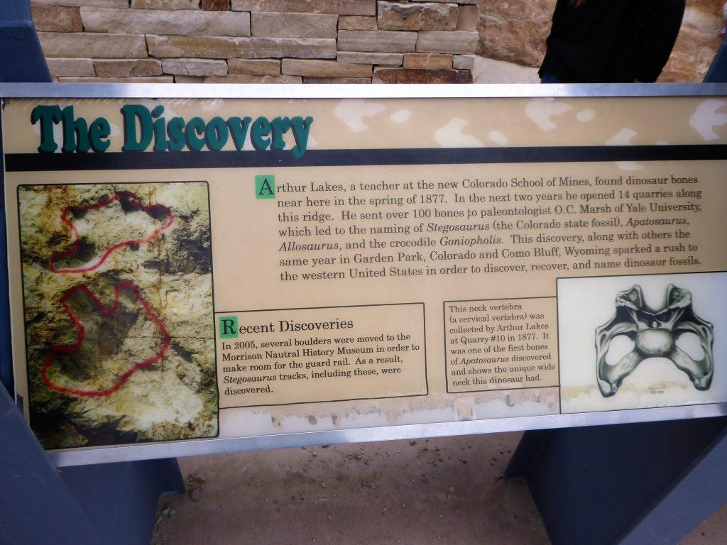 Dinosaur Ridge Discovery