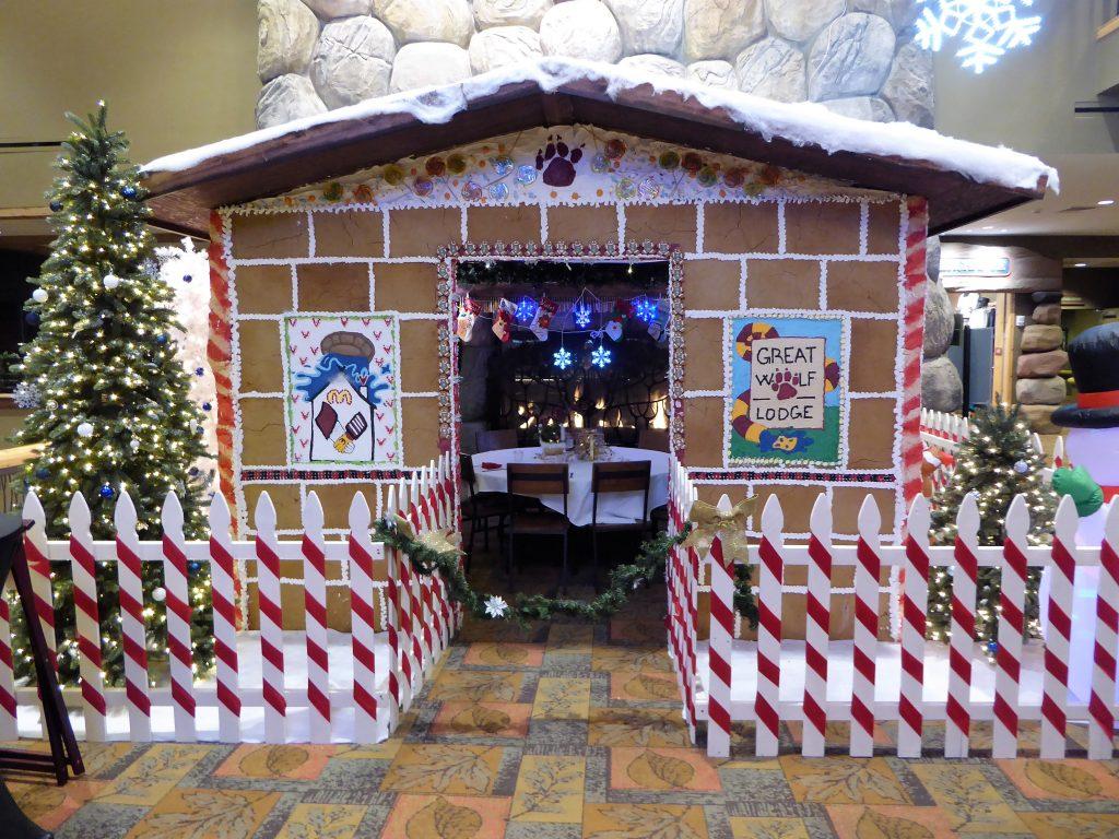 Christmas in Colorado Gingerbread House