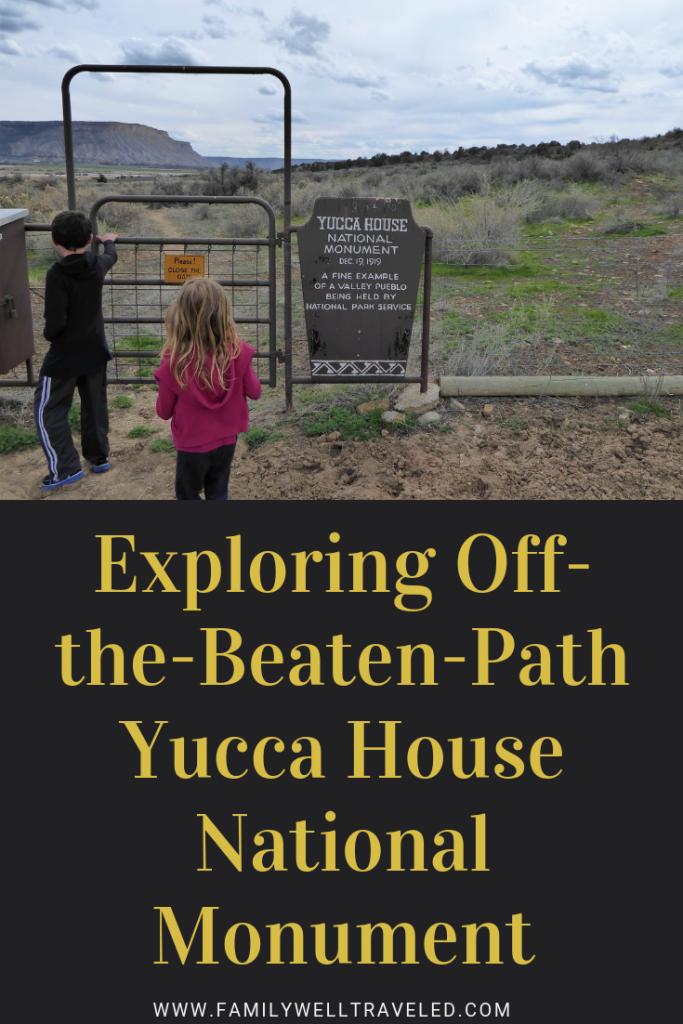 Yucca House National Monument, Cortez, Colorado