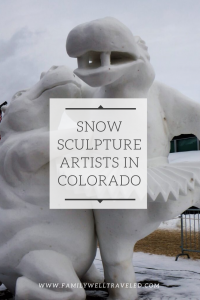 International Snow Sculpture Competition, Breckenridge, Colorado