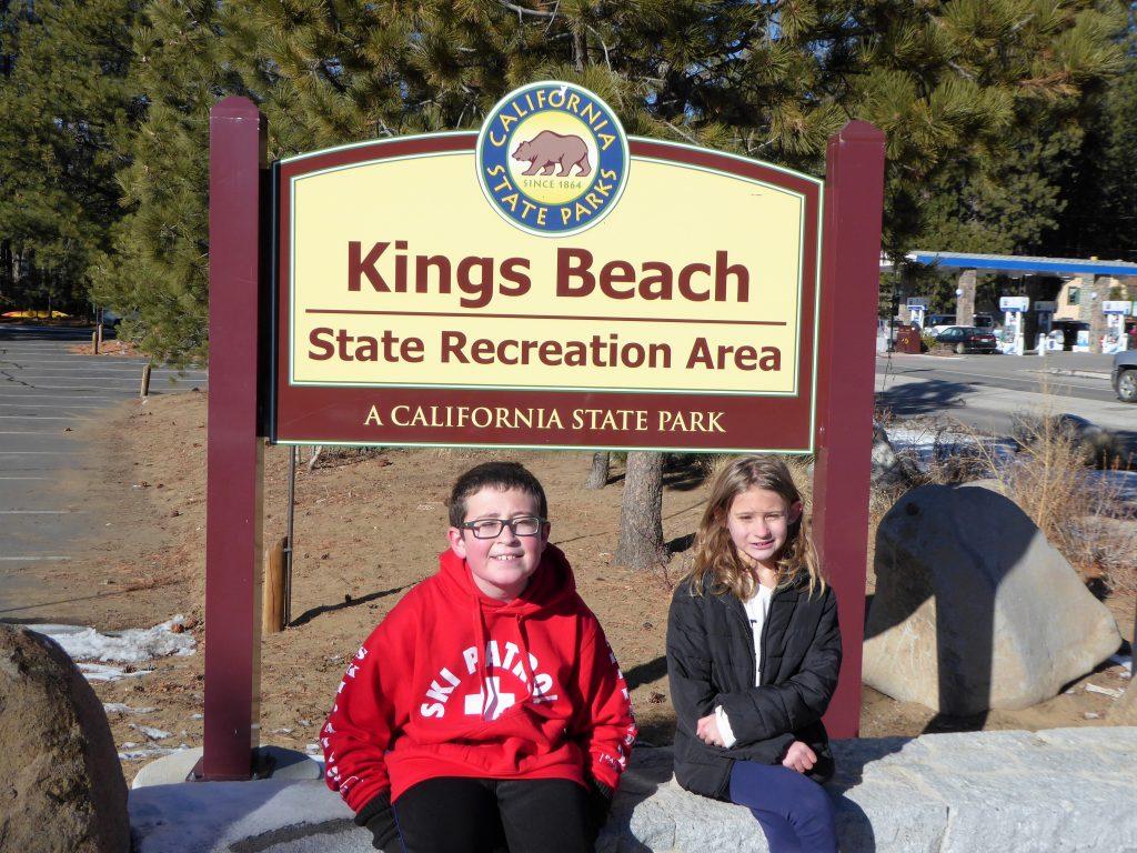 Kings Beach Lake Tahoe Sign