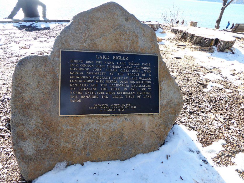 Kings Beach Lake Tahoe Lake Bigler