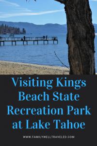 Kings Beach State Recreation Park, Lake Tahoe, California