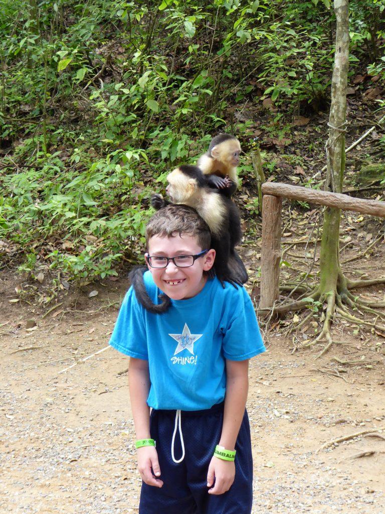 Gumbalimba Park Roatan Island Capuchin Monkey