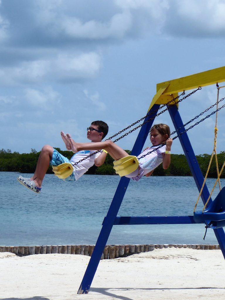 Starfish Island Belize Swings