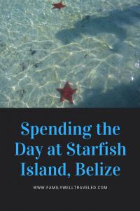 Starfish Island Belize