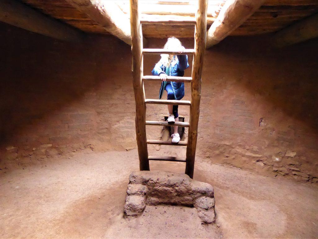 Pecos National Historical Park Kiva Ladder