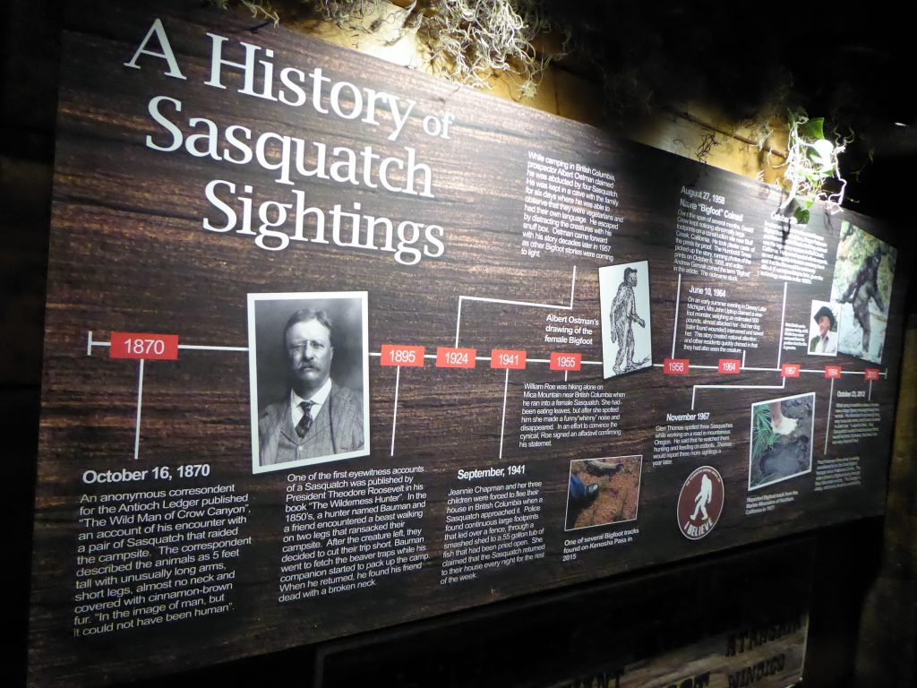 Sasquatch Outpost Timeline