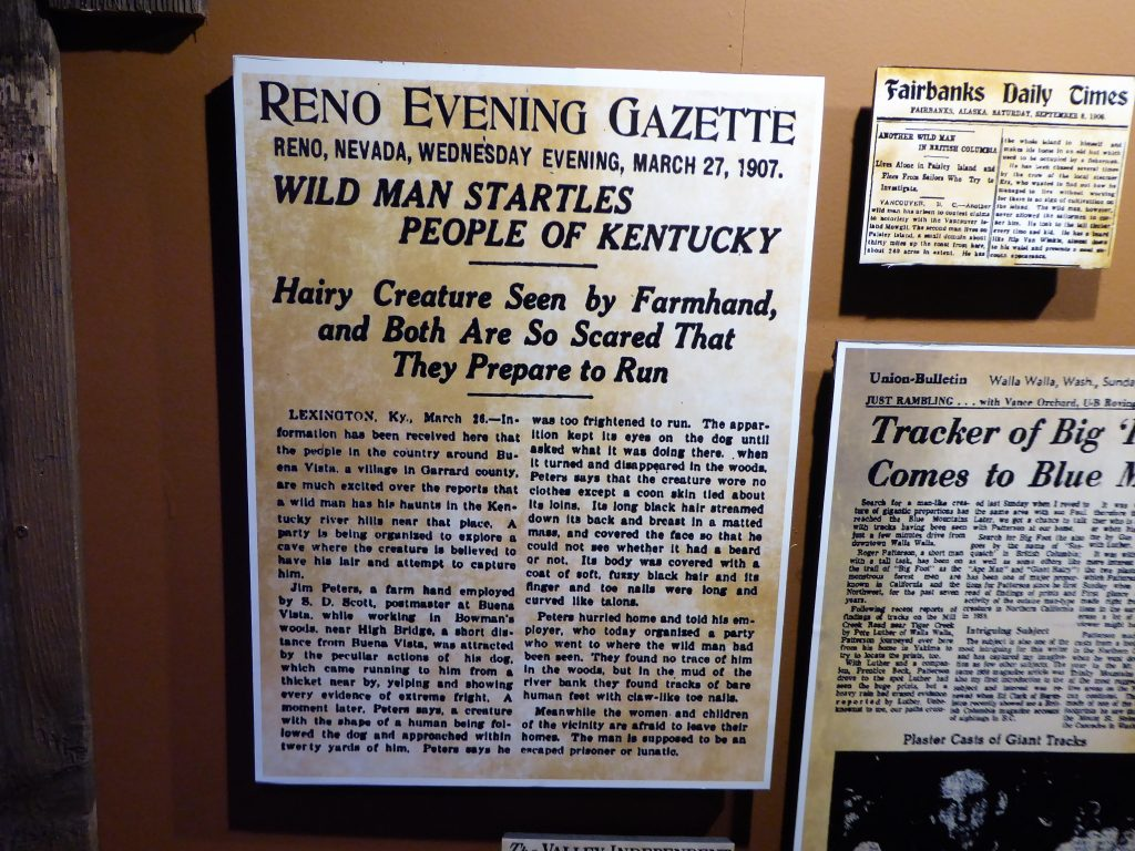 Sasquatch Outpost Newspaper