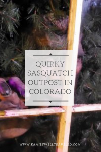 Sasquatch Outpost Bailey, Colorado