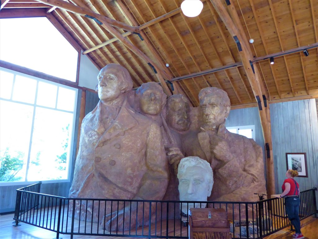 Mount Rushmore Scale Model