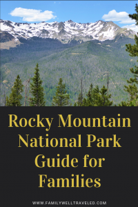 Rocky Moutain National Park Guide for Families