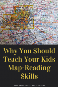 Teaching Kids Map-Reading Skills