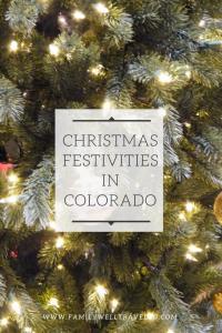 Christmas Festivities in Colorado, USA