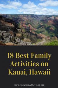 Family Activities on Kauai