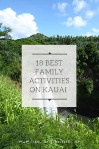 Kauai, Hawaii, USA Family Activities