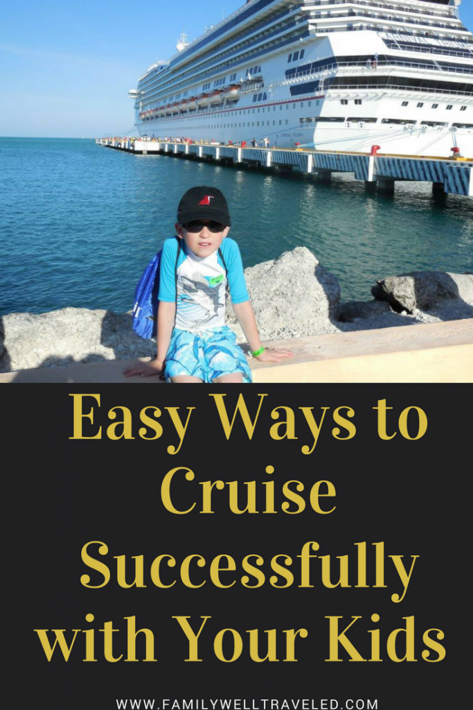 Cruise with Children Pin