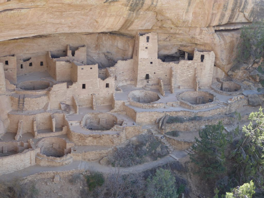 Cliff Dwellings Mesa Verde Cliff Palace