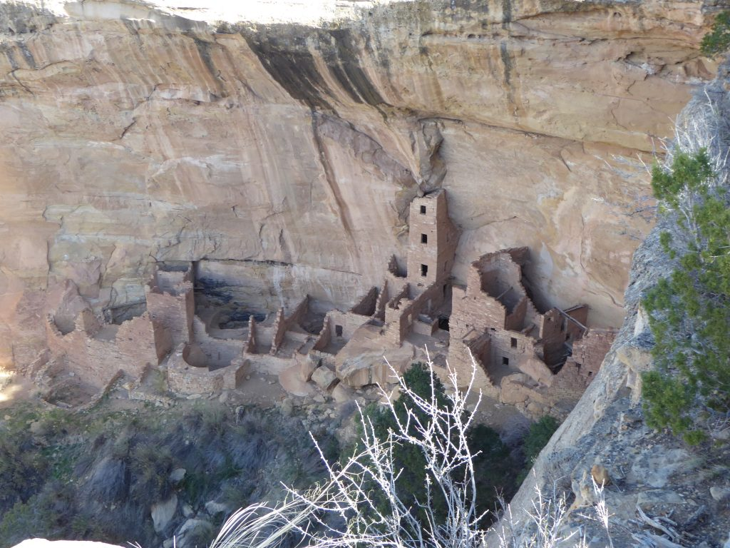 Cliff Dwellings Mesa Verde Square Tower House