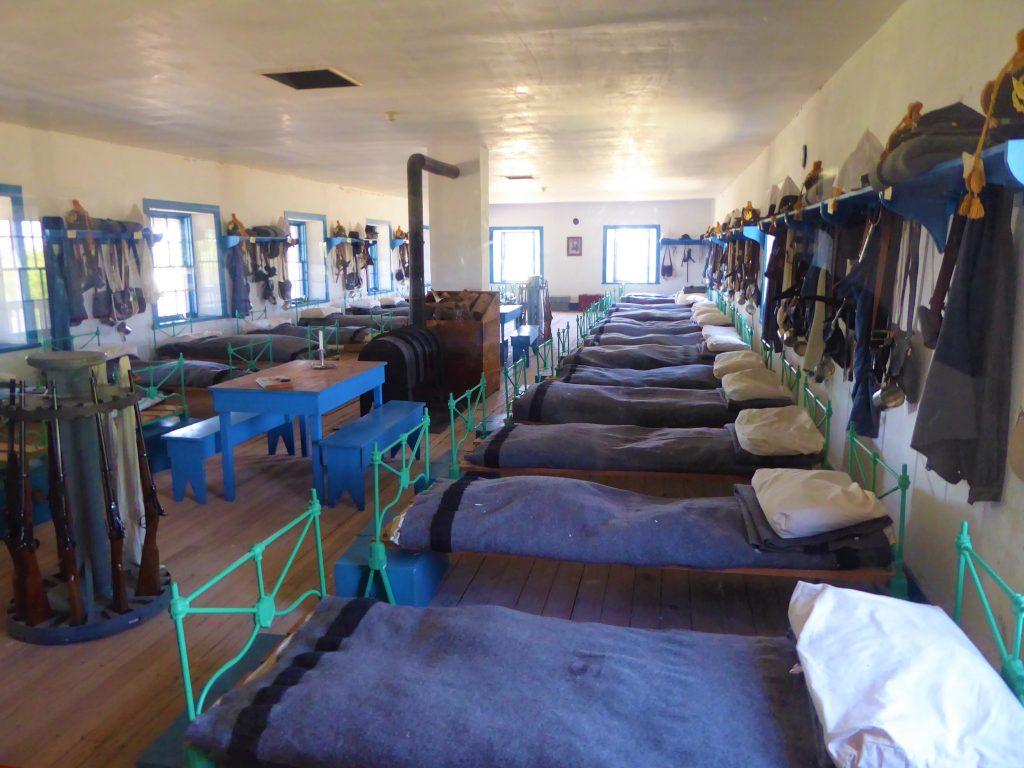 Fort Laramie barracks