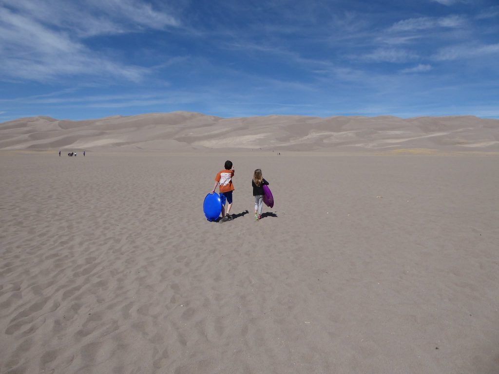 Every Kid in a Park Pass Great Sand Dunes.