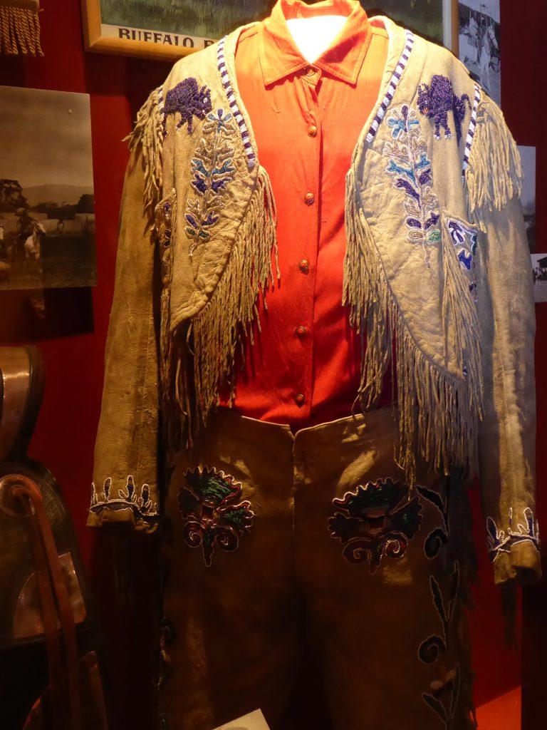Buffalo Bill Museum and Grave Buffalo Bill Cody's show costume
