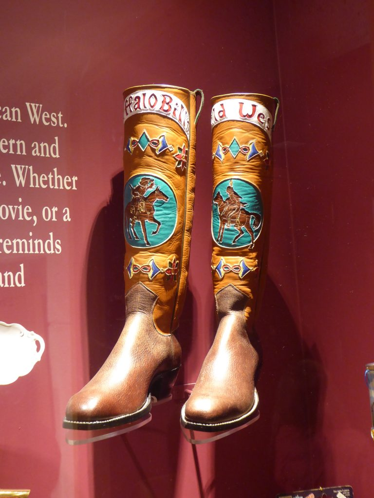 Buffalo Bill Museum and Grave Wild West Show Boots