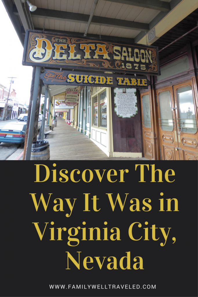 Virginia City Nevada Pin