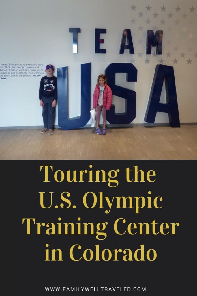U.S. Olympic Training Center Pin