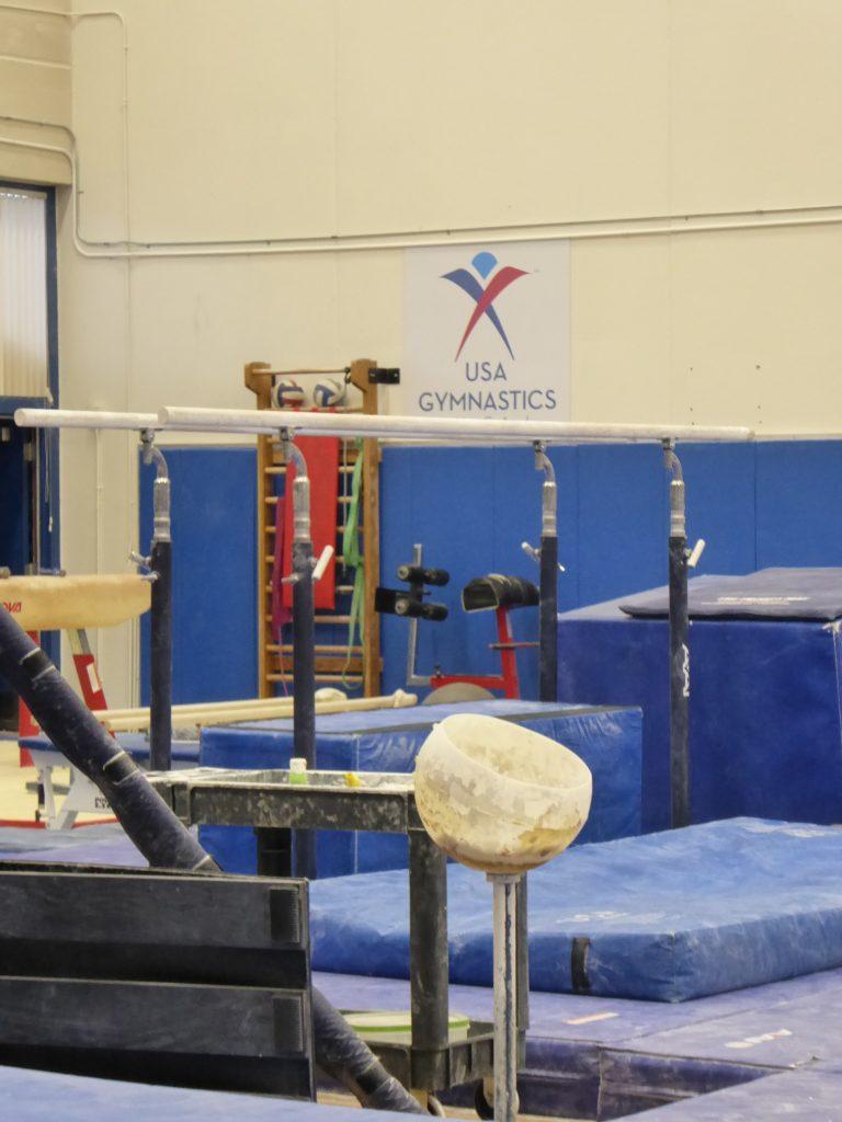U.S. Olympic Training Center Gymnastic Equipment