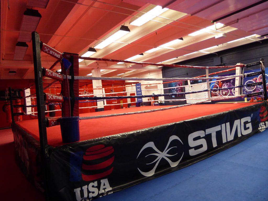 U.S. Olympic Training Center Boxing Ring