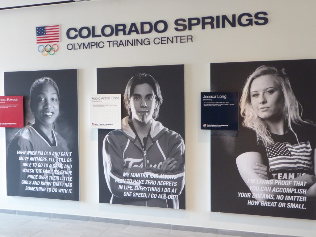U.S. Olympic Training Center Olympian Quotes
