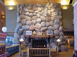 Great Wolf Lodge Colorado Springs Fireplace