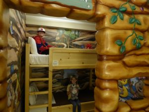 Great Wolf Lodge Colorado Springs Wiley's Den Bunks