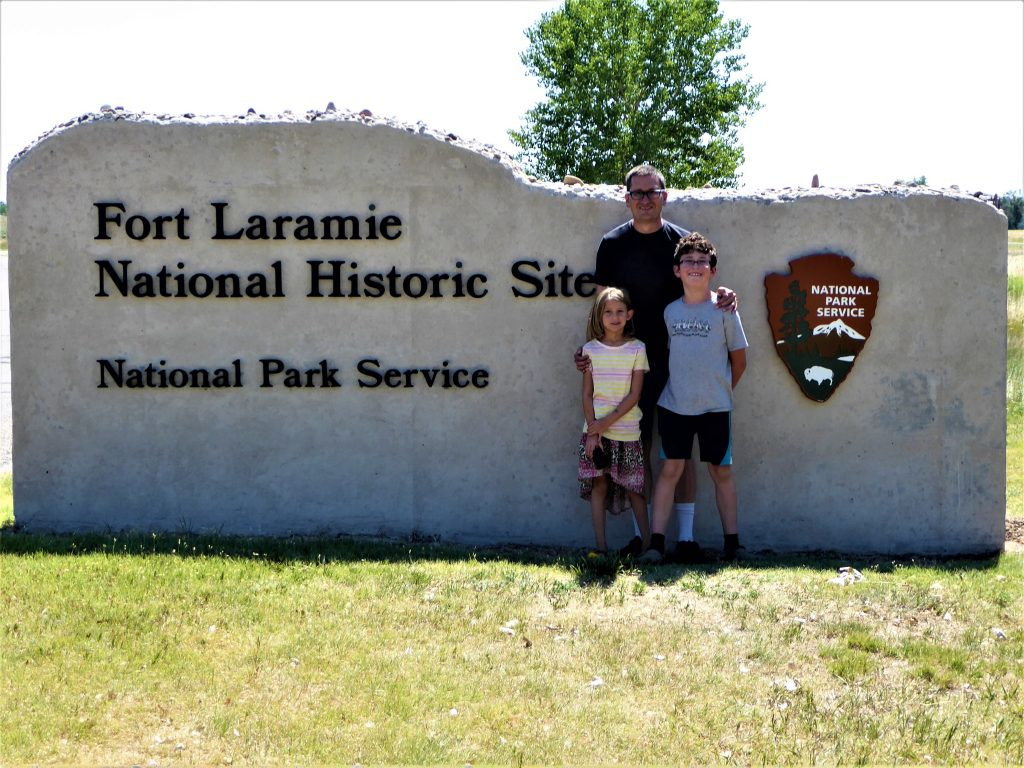 Family at NPS Site