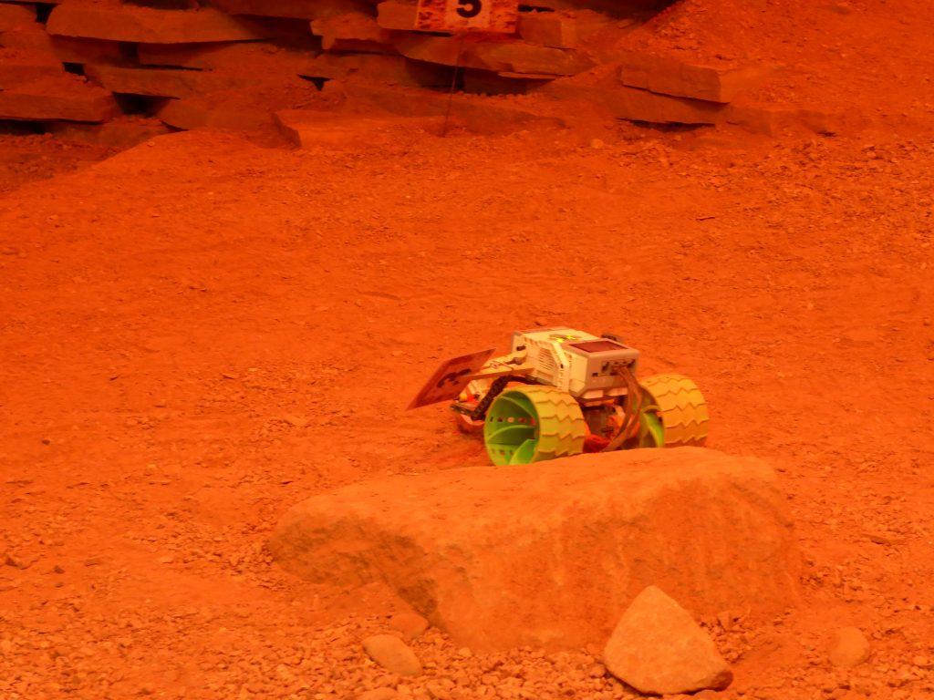Drive a Mars Rover