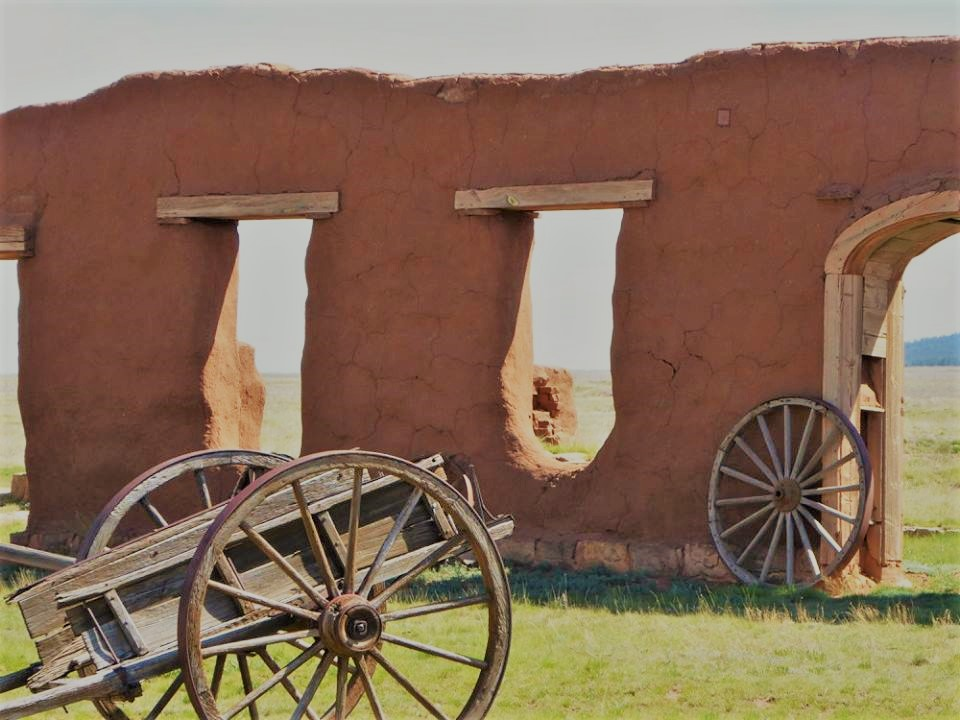 Western U.S. Fort Union in New Mexico