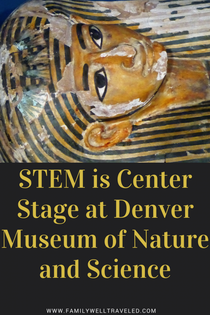 Denver Museum of Nature and Science in Denver, Colorado, USA