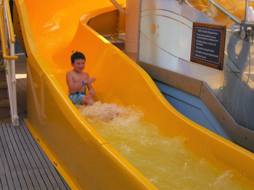 What to do on a Disney Cruise Slide