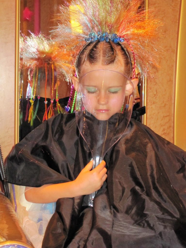 What to do on a Disney Cruise Princess Makeover